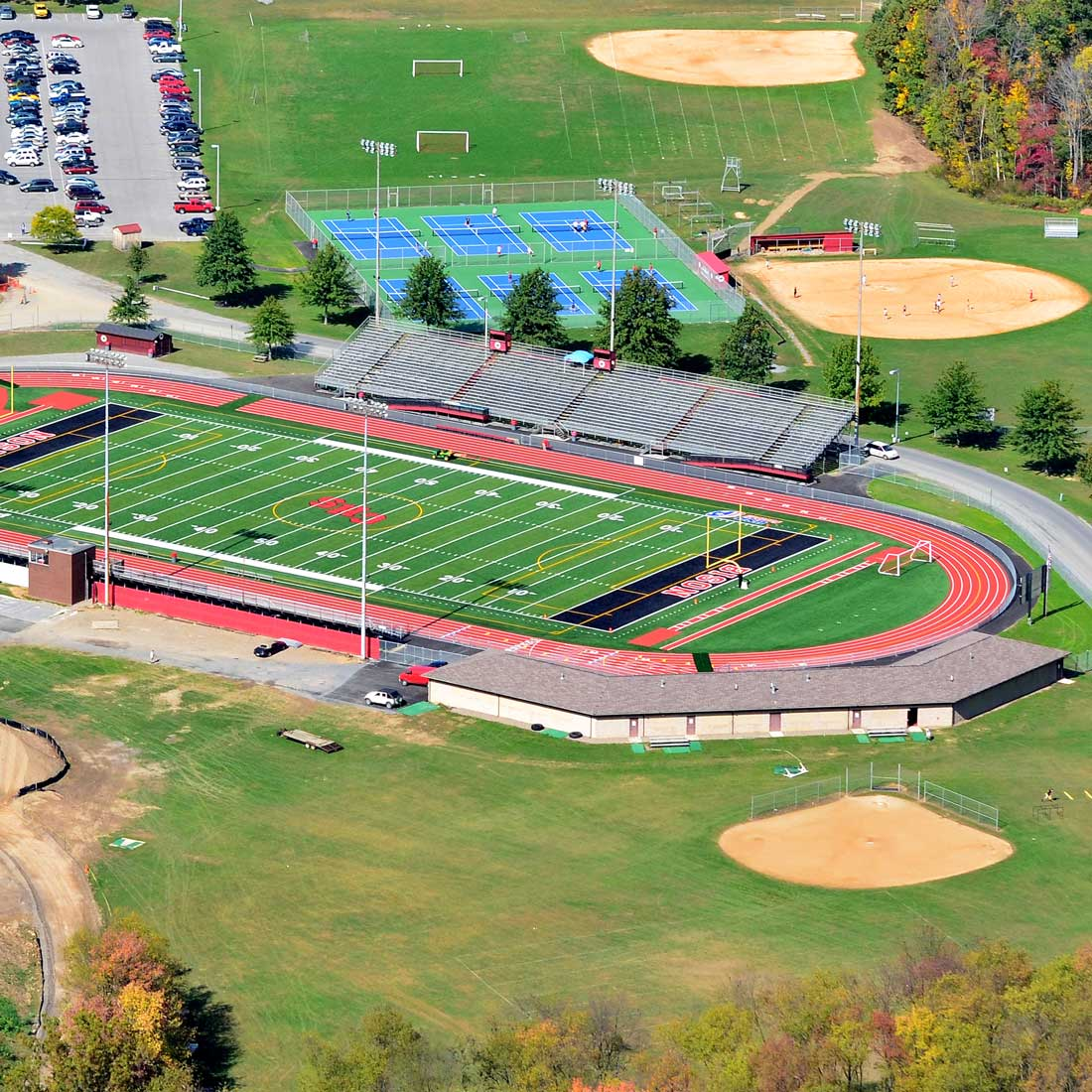 CLEARFIELD AREA ATHLETIC COMPLEX. Athletic projects