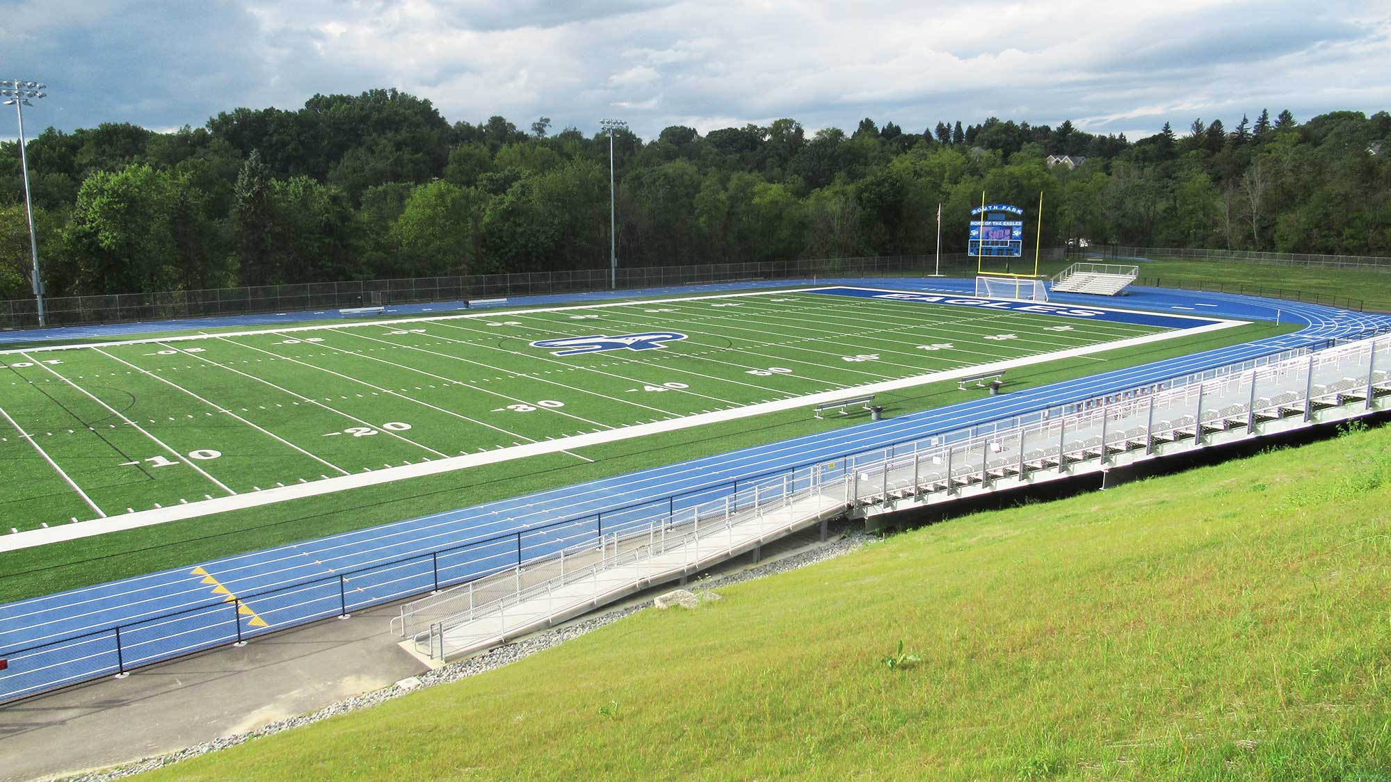 SOUTH PARK EAGLE STADIUM track