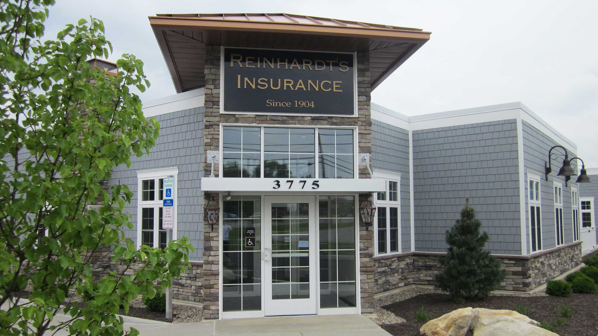 Reinhardt's Insurance remodel