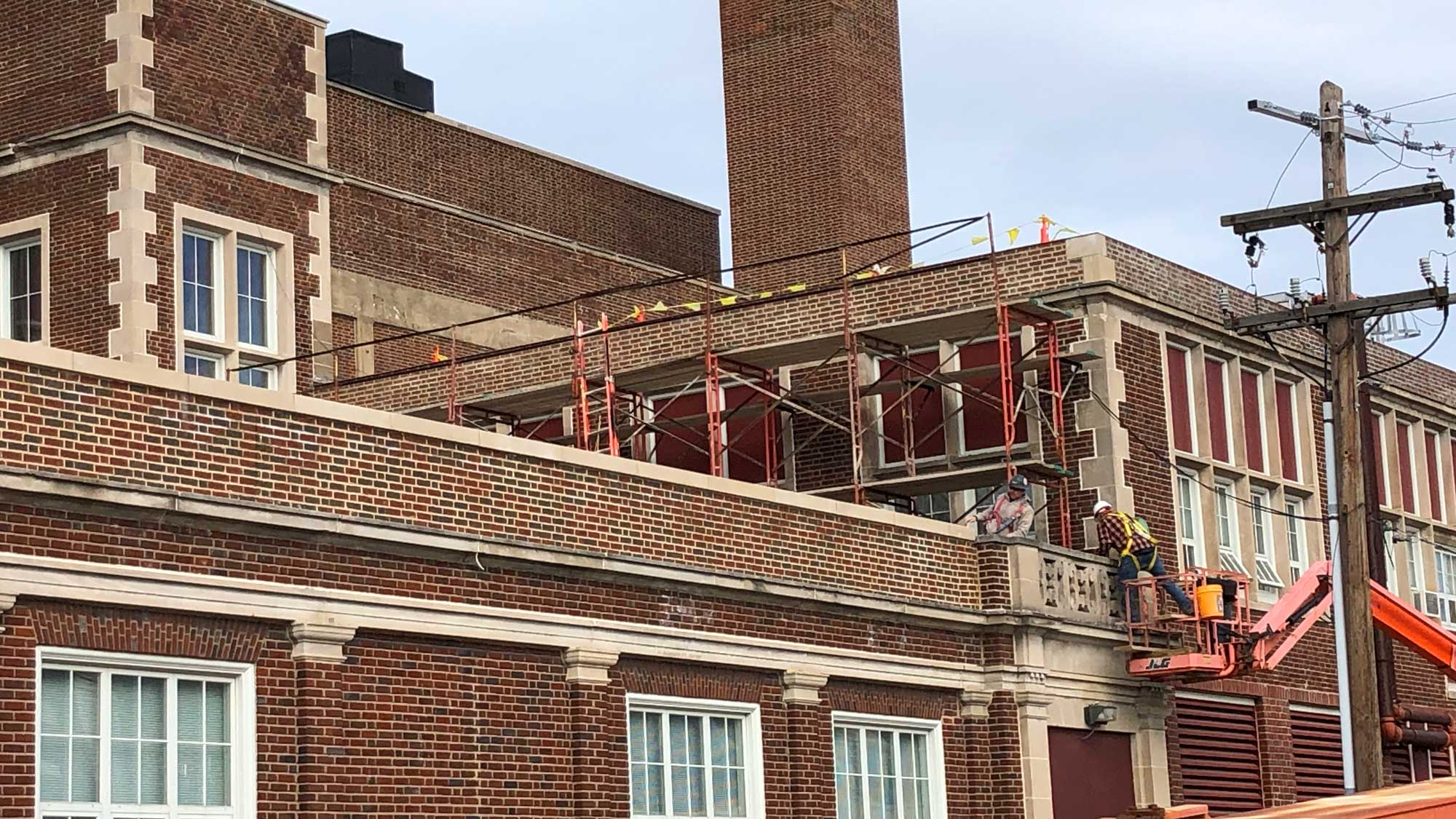 Northwestern Pennsylvania Collegiate Academy mason work 2