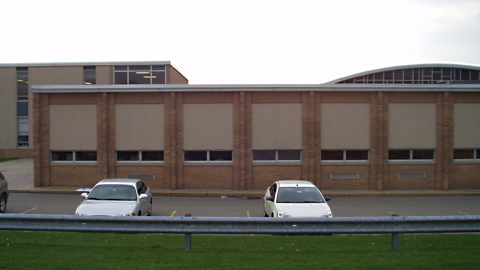 Neshannock Township High School Windows before